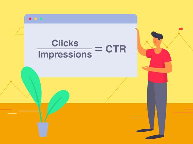 ảnh hưởng của CTR đến website