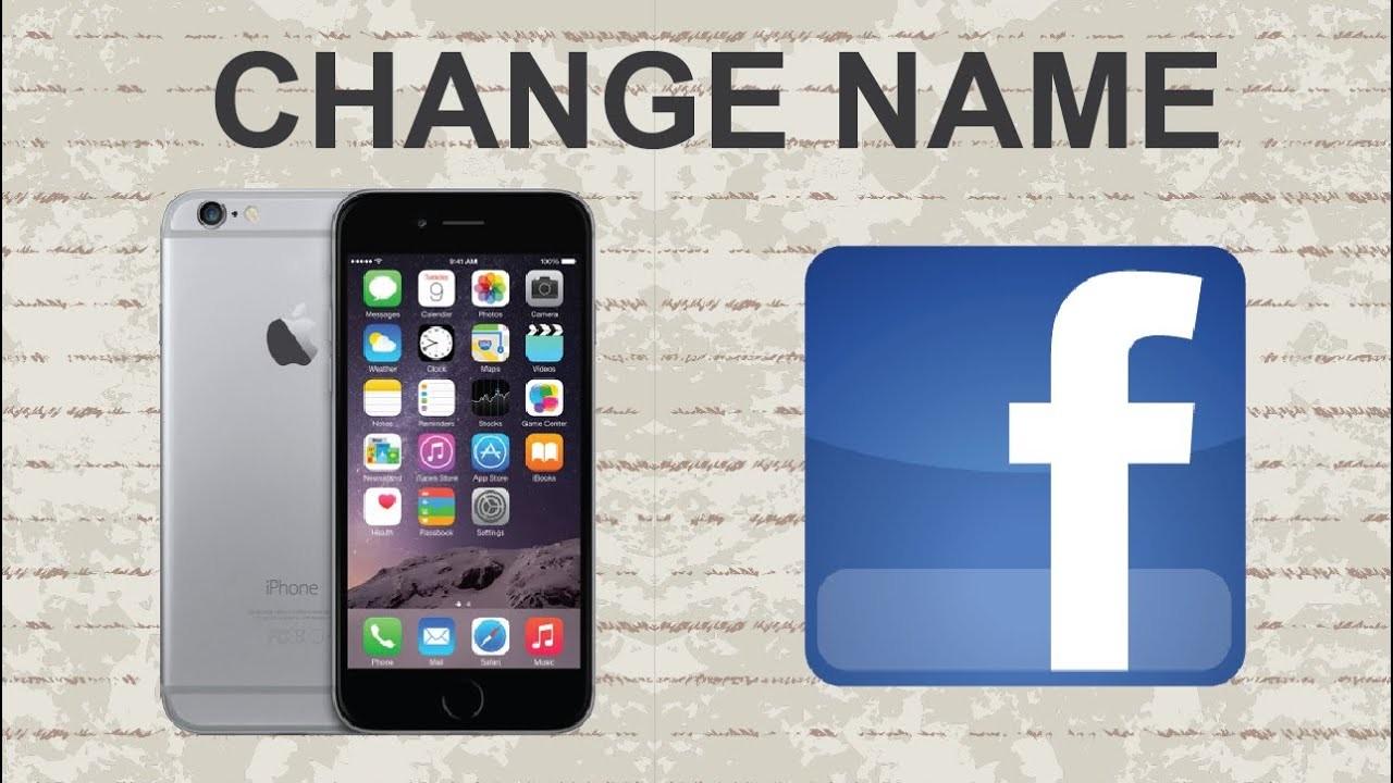 đổi tên người dùng trên facebook