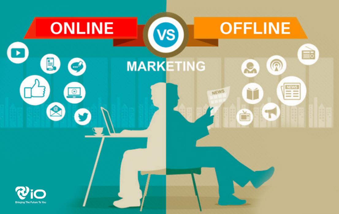 Cân bằng giữa marketing online và offline