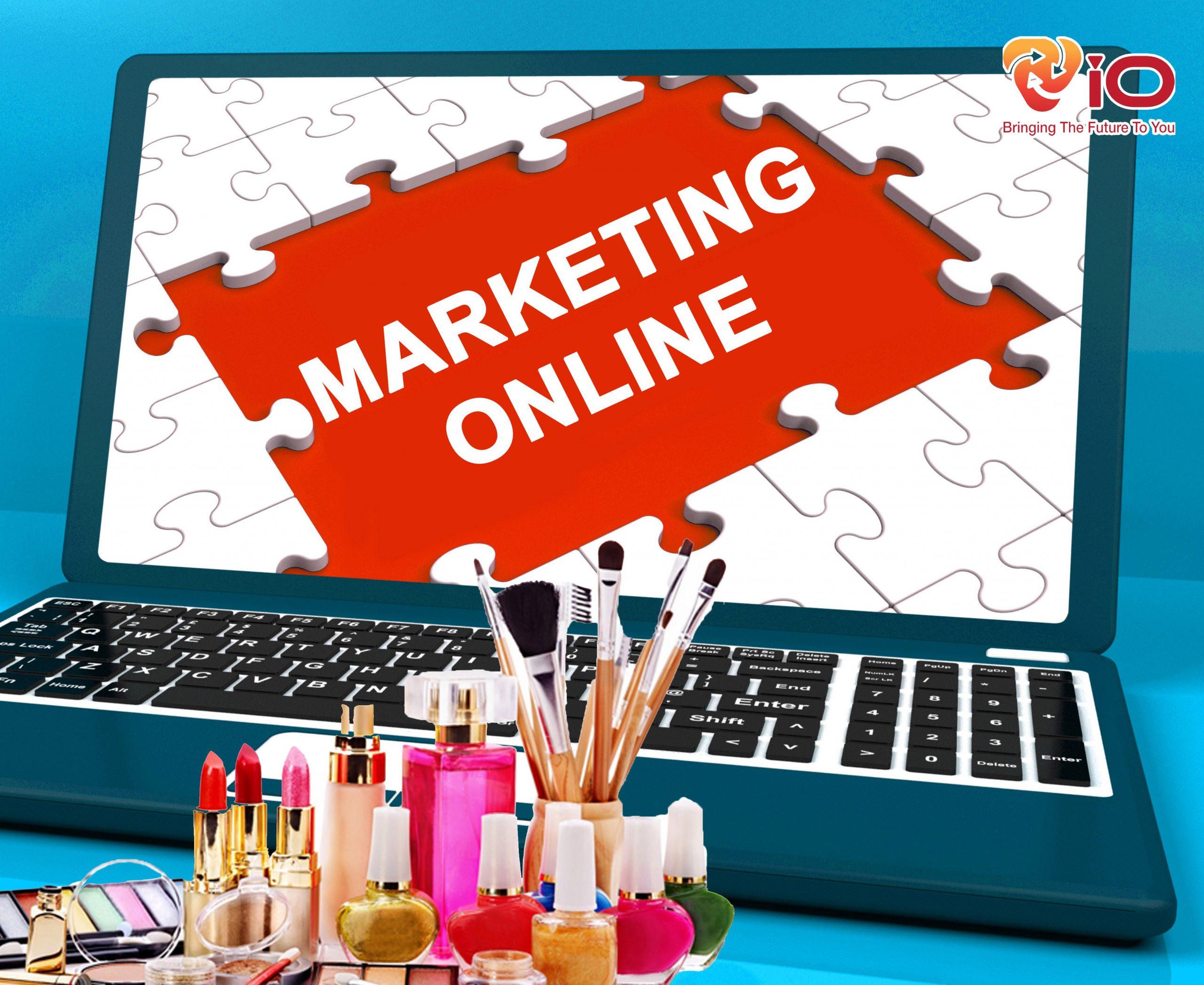 giải pháp marketing online cho ngành mỹ phẩm