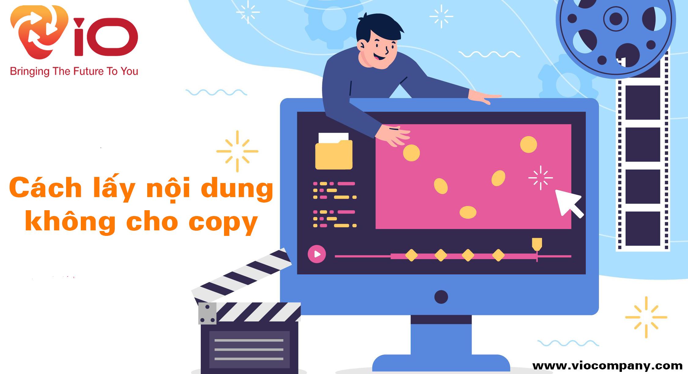Cách lấy nội dung không cho copy
